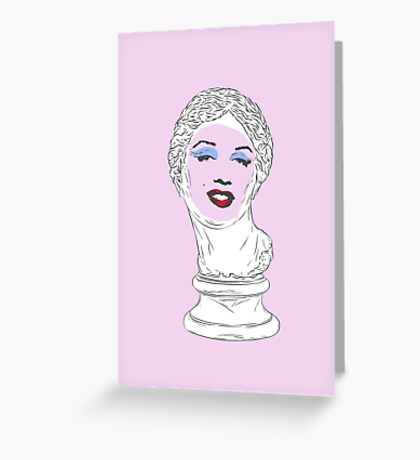 Marilyn Aphrodite Greeting Card