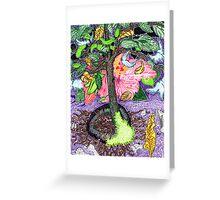 Hi(gh)biscus Magic Greeting Card