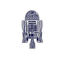 Aztec R2-D2 Photographic Print
