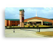Church Building Canvas Print