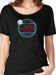 Young Justice Abridged Logo (Adult-Version) Women's Relaxed Fit T-Shirt
