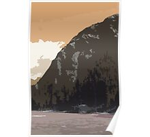 Side Mountain Poster