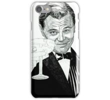 di caprio gatsby iPhone Case/Skin