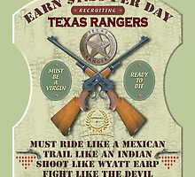 Recruiting Texas Rangers by MEDIACORPSE