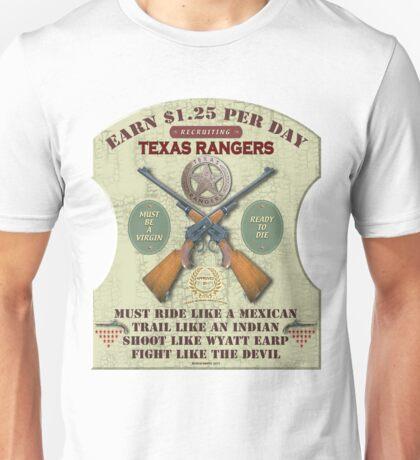 Recruiting Texas Rangers Unisex T-Shirt