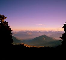 The Cairns of den Alpen by OilPrints