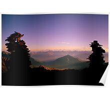 The Cairns of den Alpen Poster