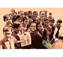 Happy Friendly Little Faces Photographic Print