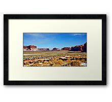 Once Upon a Time in Utah Framed Print