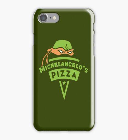 Michelangelo's Pizza iPhone Case/Skin