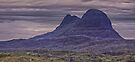 Suilven Panorama by David Alexander Elder