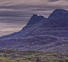 Suilven Panorama by David Alexander Elder