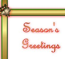 Seasoon's Greetings Christmas card by Cheryl Hall