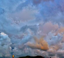 ©HCS Fresh Blue Clouds II by OmarHernandez