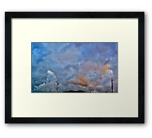 ©HCS Fresh Blue Clouds II Framed Print