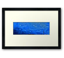 ©HCS Think in Blue I Framed Print