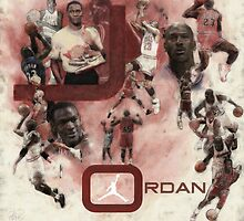 Rare Air-Michael Jordan by Philip Thompson