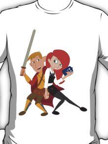 Kim & Ron Cosplay Amy & Rory T-Shirt