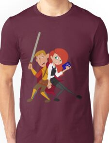 Kim & Ron Cosplay Amy & Rory Unisex T-Shirt