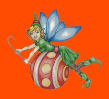 Red Ornament Christmas Faerie - Small Kids Clothes
