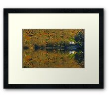 Rydal Water .. Russet Reflections Framed Print