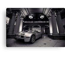 Bugatti Veyron Grandsport Canvas Print