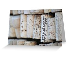 Cork Greeting Card