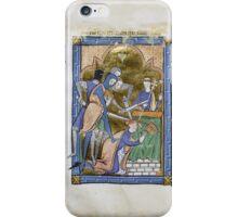 Medieval Illuminated Manuscript: Martyrdom of Saint Thomas Becket iPhone Case/Skin