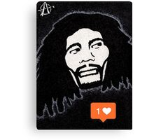 One love One like Canvas Print