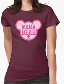 MAMA Bear in teddy bear shape T-Shirt