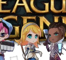 LeagueOfLegendsChibi Sticker