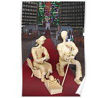Nativity Crib Poster