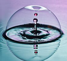 Two drops in a bubble. by philTas