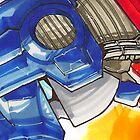 Optimus Prime Horizontal by Jeffery Borchert