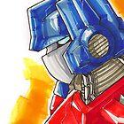 Optimus Prime by Jeffery Borchert