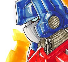 Optimus Prime by Jeffery Borchert