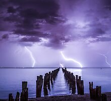 Mother Nature seeing December in, with a bang!  Clifton Springs, Victoria. by Julie Begg