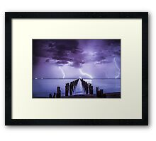 Mother Nature seeing December in, with a bang!  Clifton Springs, Victoria. Framed Print