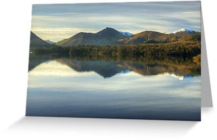 The Lake District..Derwentwater by Jamie  Green