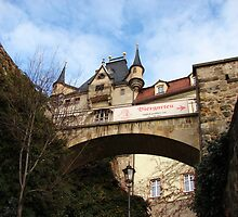 The Arch - Gateway Albrecht Castle - Meissen by Natas