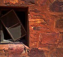 A Crooked Window at Tennant Creek by myraj
