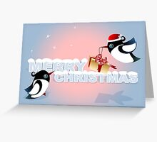 Christmas Card - Birds Christmas Gift Greeting Card