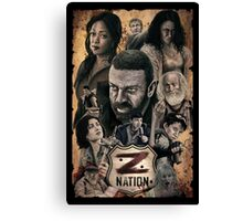 Z Nation Canvas Print
