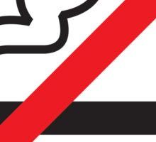 NO SMOKE Sticker