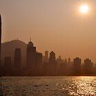 Hazy Hong Kong by darylbowen