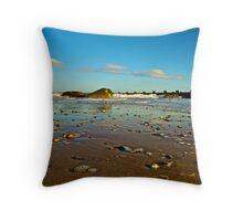 Norfolk Beach  Throw Pillow