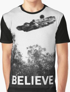Believe - Falcon Graphic T-Shirt