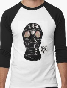 Masking the problem. Men's Baseball ¾ T-Shirt