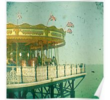 Carousel by the Sea Poster