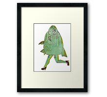 The Reverse Mermaid Framed Print